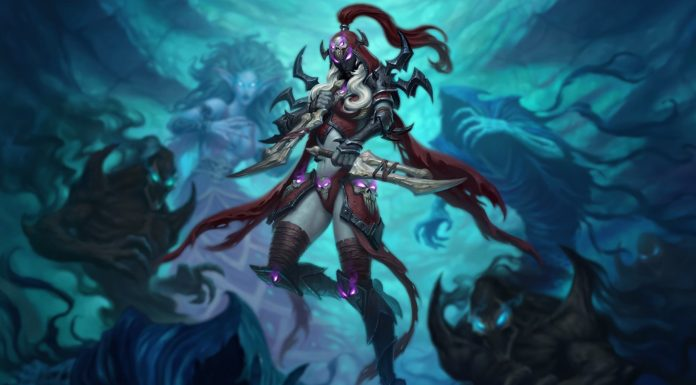 Valeera the Hollowed is one of the Death Knights included in Hearthstone's Knights of the Frozen Throne expansion.