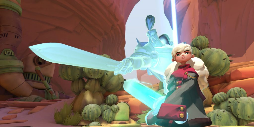 Screenshot from Gigantic.