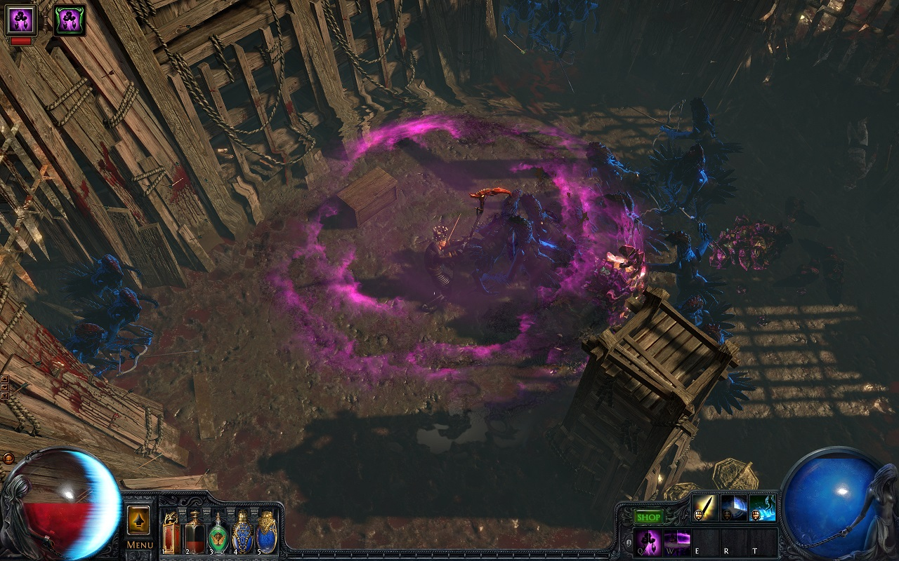 Path of Exile's new player experience offers a wealth of content, but sometimes the complexity of the game can be overwhelming.