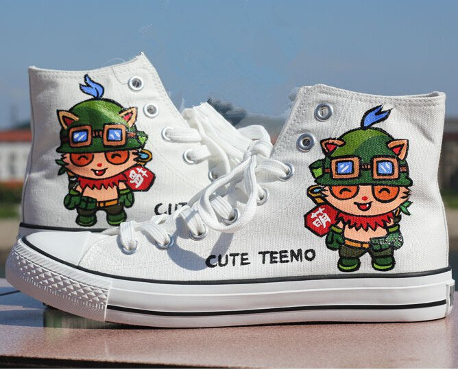 Pretty decent Teemo shoes.