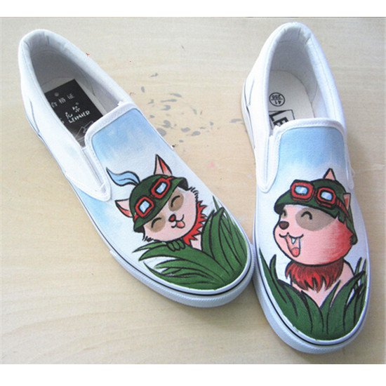 Terribly designed Teemo shoes.
