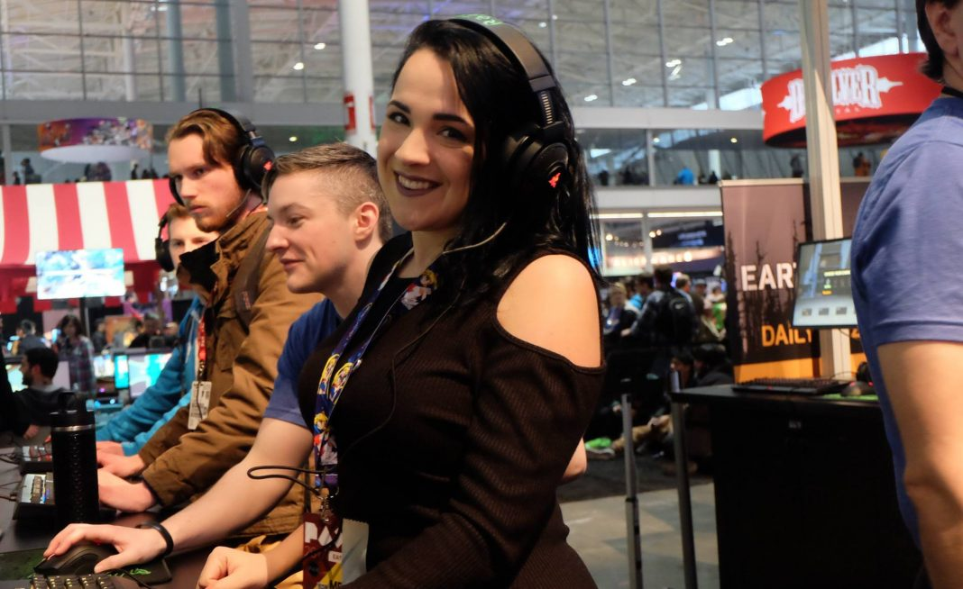 "Gillian ""Kendryx_"" Linscott at PAX East"