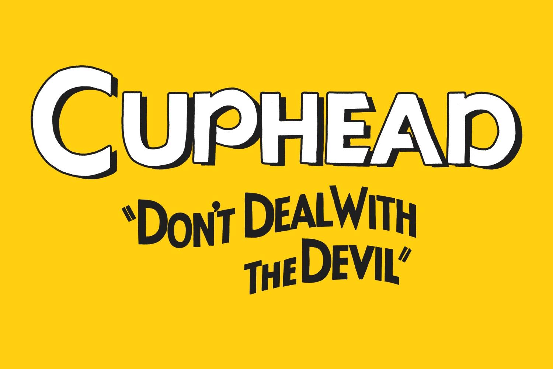 Cuphead promo logo