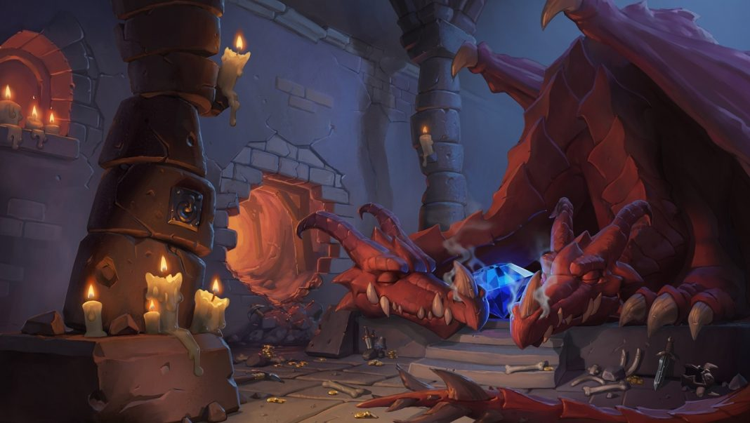 Several cards from Hearthstone's Kobolds and Catacombs expansion have been released, including Kathrena Winterwisp, The Runespear, and Duskbreaker