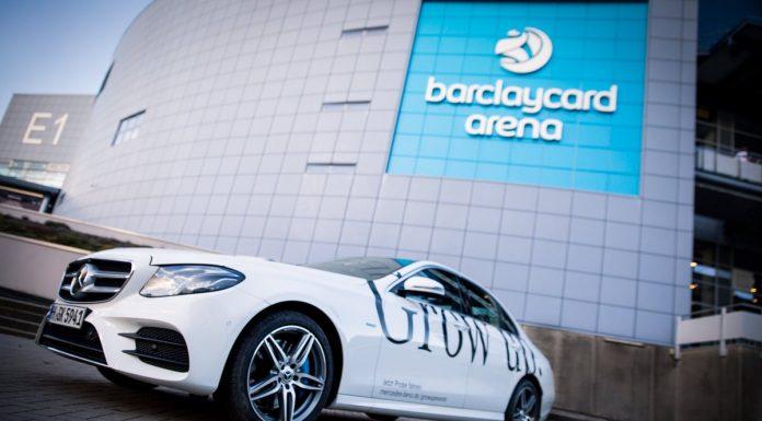 Mercedes Benz E-Class Sedan Advertisement