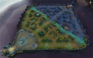 League of Legends Microtransactions - Arena of Valor is one of Tencent's mobile games, and this picture of the game's map looks oddly familiar to anyone who has played League of Legends.