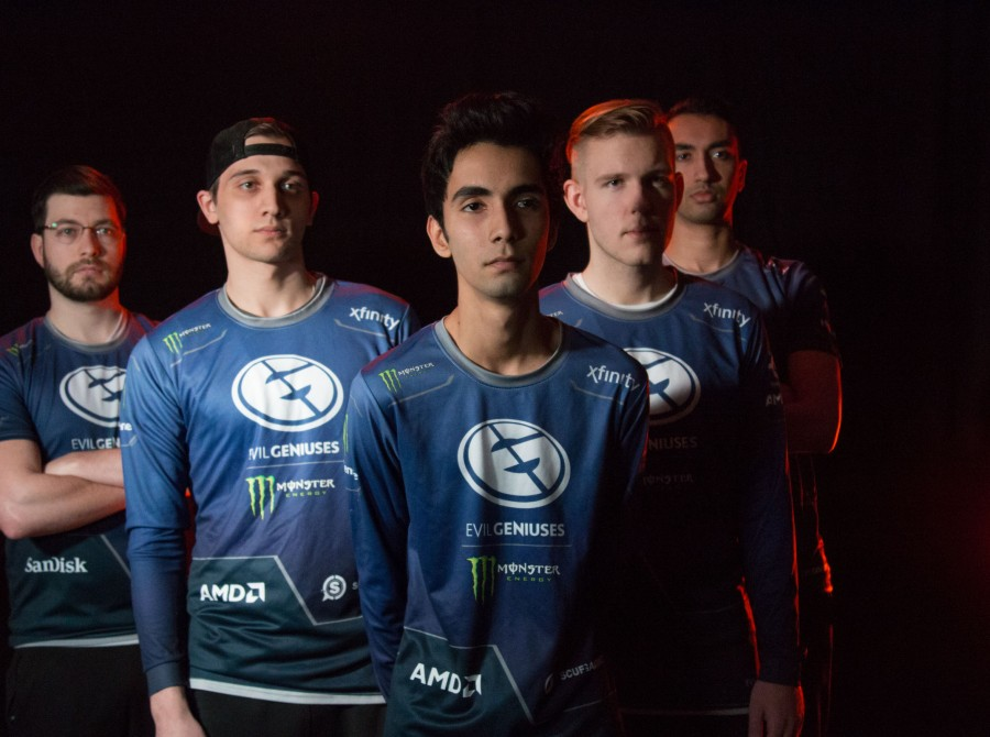 Universe EG Roster Shuffle - This was what the Evil Geniuses roster looked like before Universe was kicked from the team in December of 2017.