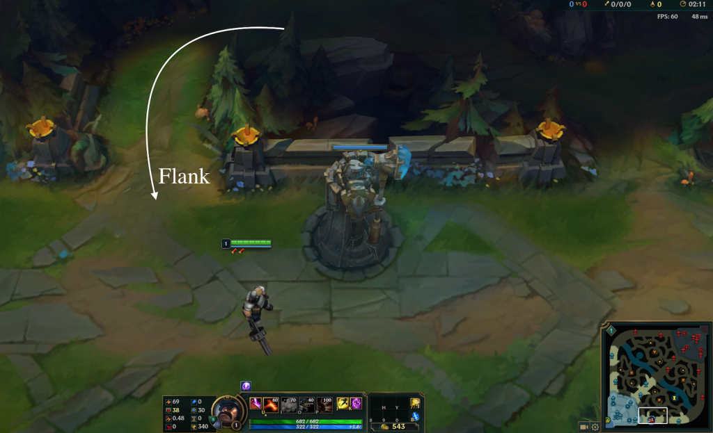 Getting caught in no man's land against a team with Baron is a death sentence.