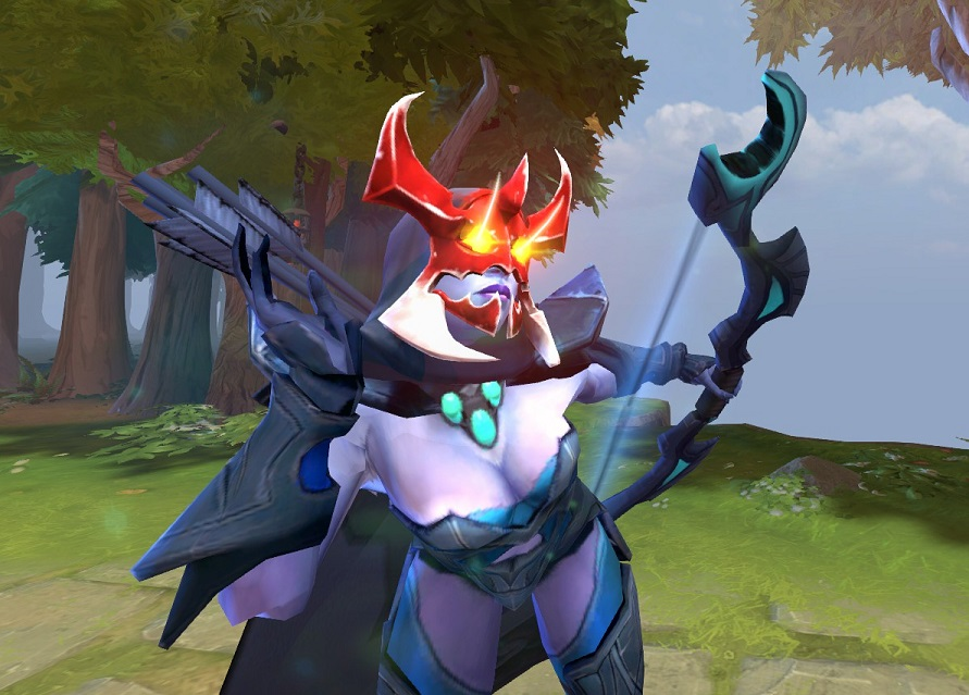 Mania's Mask isn't worth your money, although the custom idle animation for this Dota 2 cosmetic is hilarious.