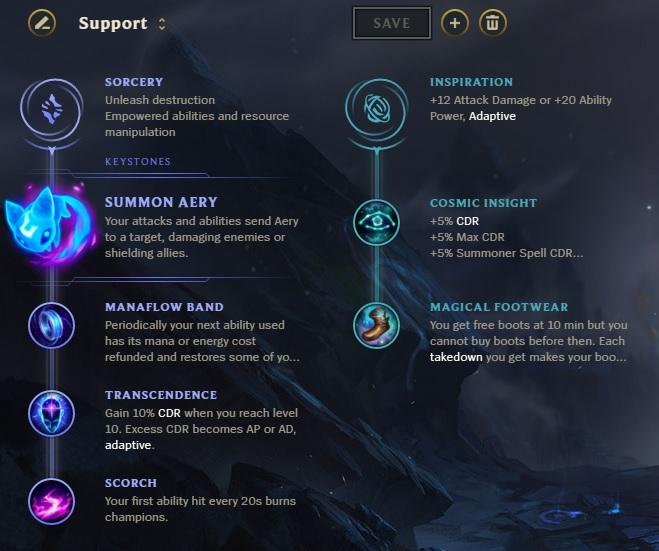 Support Runes