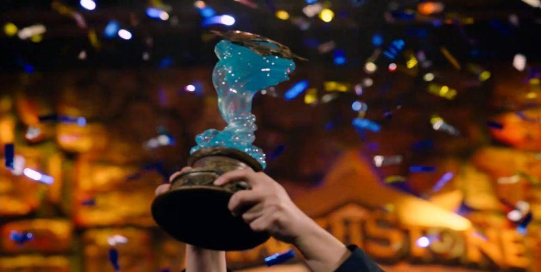 Tom60229 Hearthstone World Championship Trophy