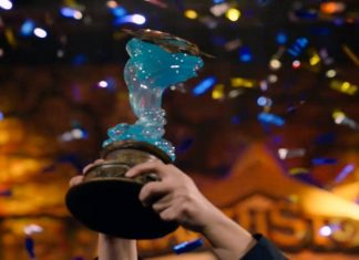 Tom60229 Hearthstone World Championship Trophy