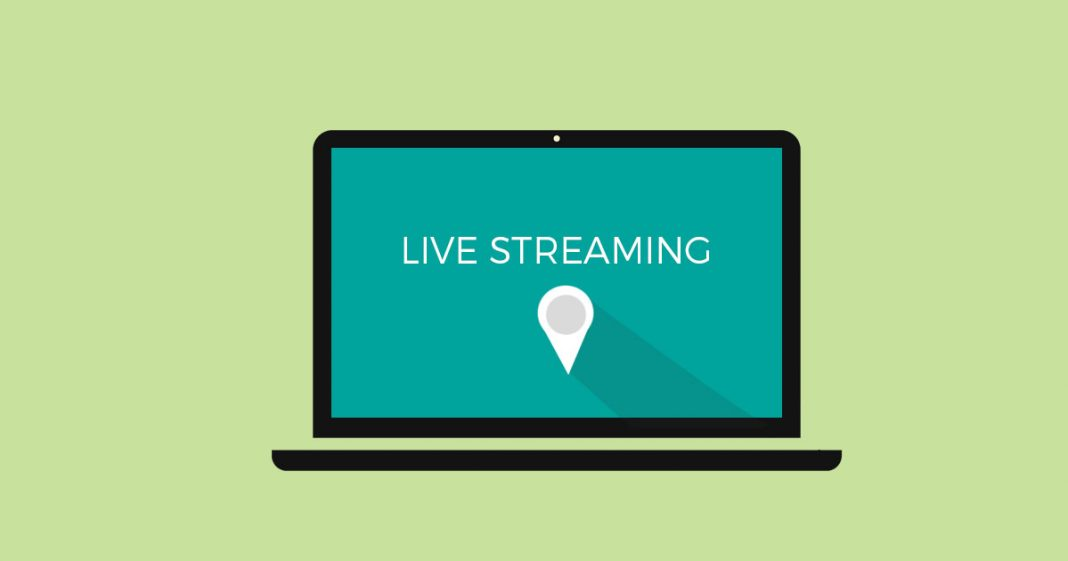 Live Streaming Screen