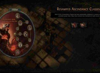 Ascendancy Changes