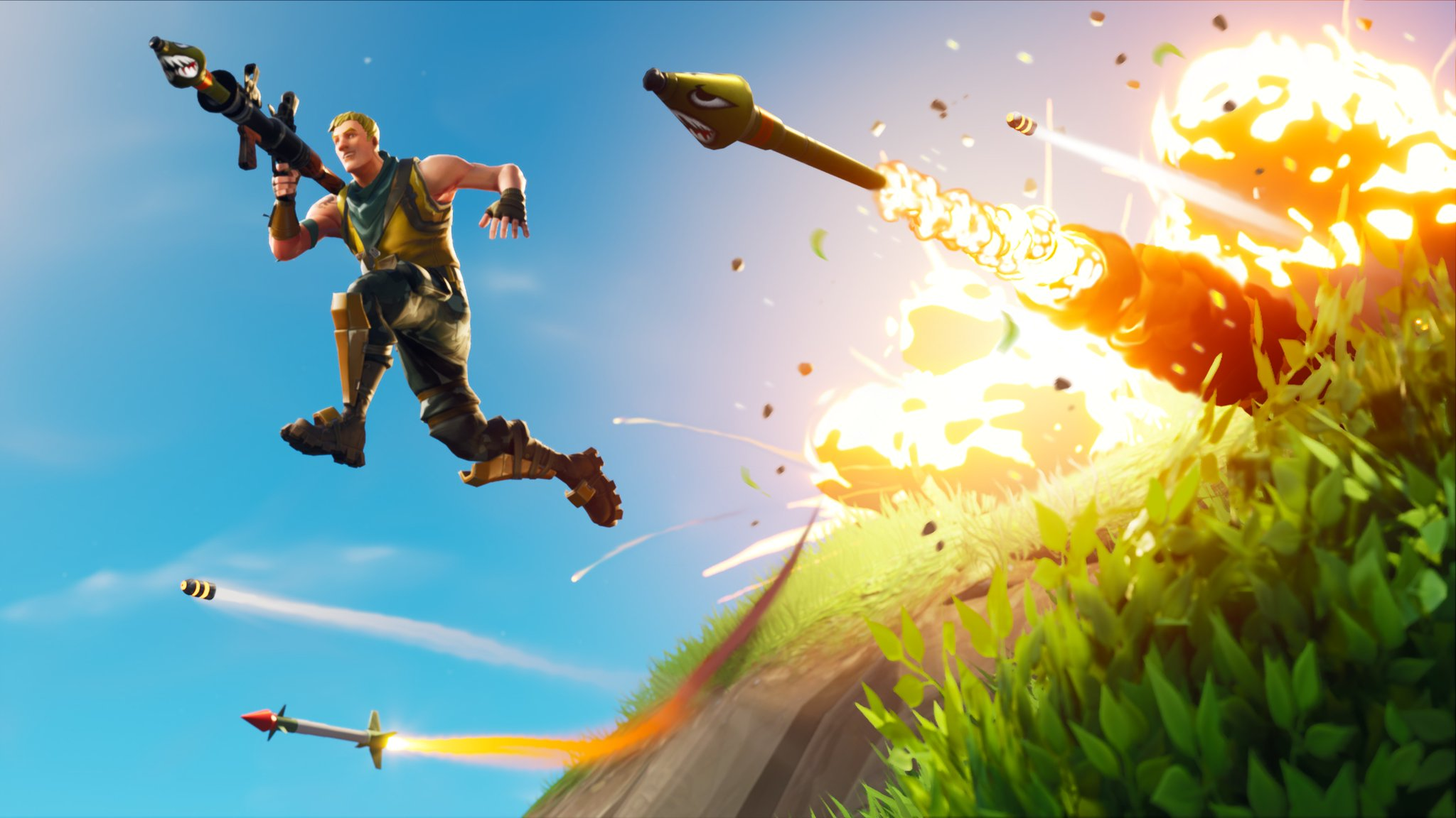 Fortnite - Highly Explosive Promotional Image