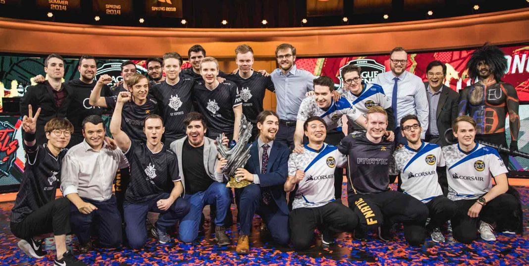 EU celebrate Rift Rivals victory