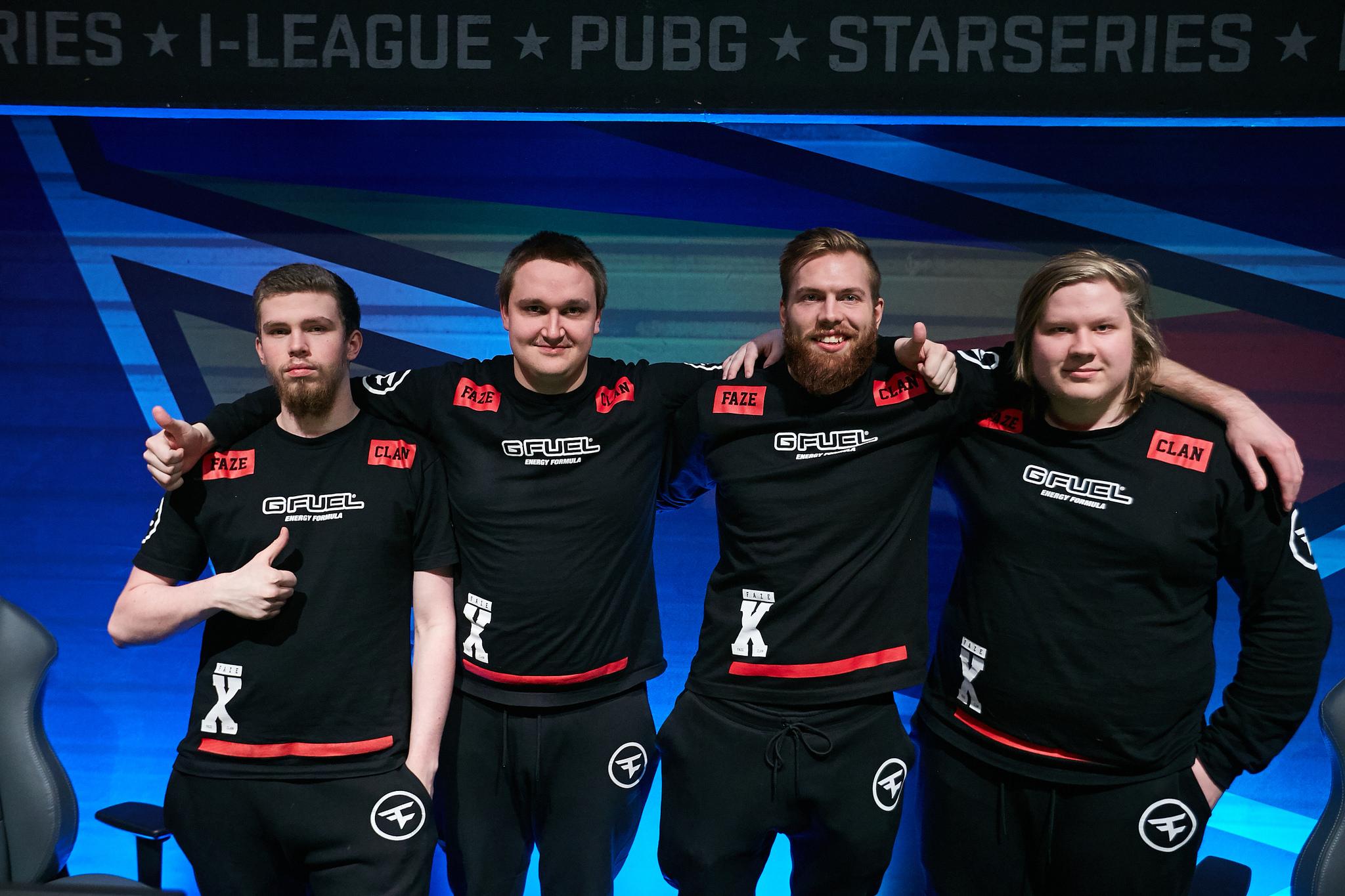 FaZe Clan at StarSeries i-League Season 2
