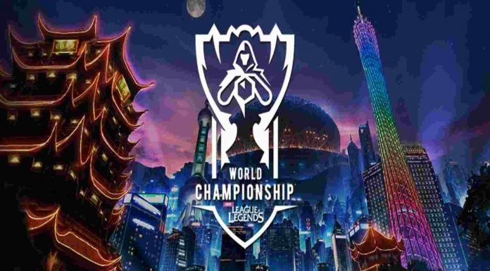 League of Legends Worlds 2018 Banner