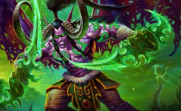 Demon Hunter Hearthstone Ashes of Outland