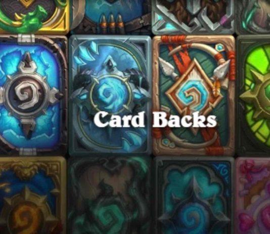 Hearthstone Card Backs