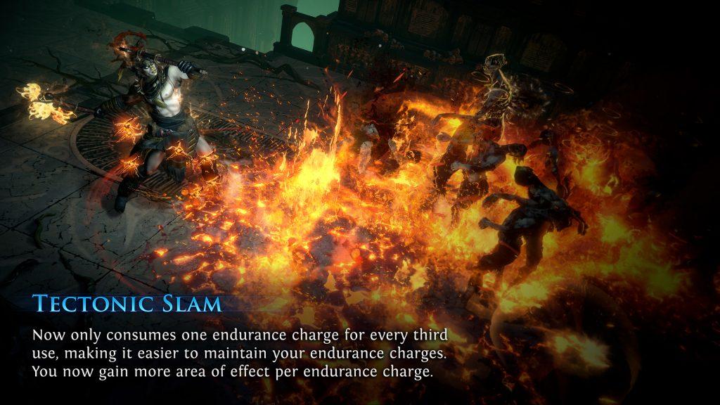 Path of Exile Harvest Tectonic Slam Rework