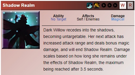 DotA 2 Dark Willow Guide - Shadow Realm
